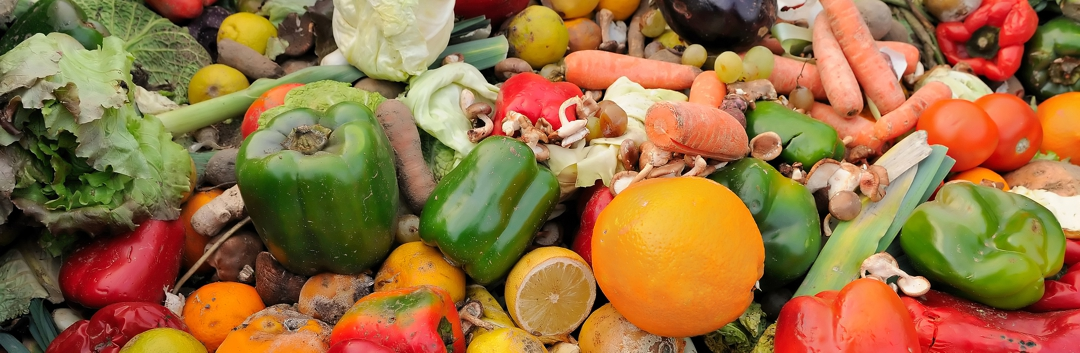 outdated fruit and vegetable waste