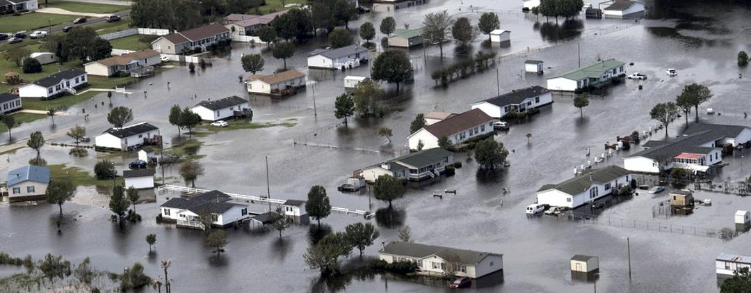 Hurricane Florence via the Washington Post