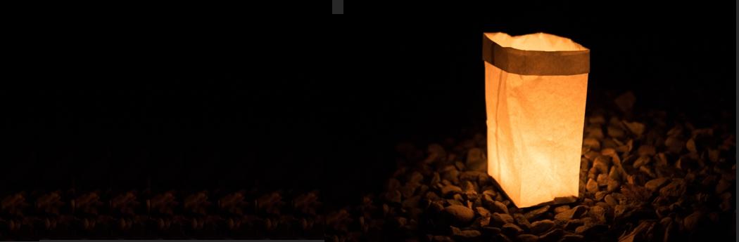 Solitary luminaire