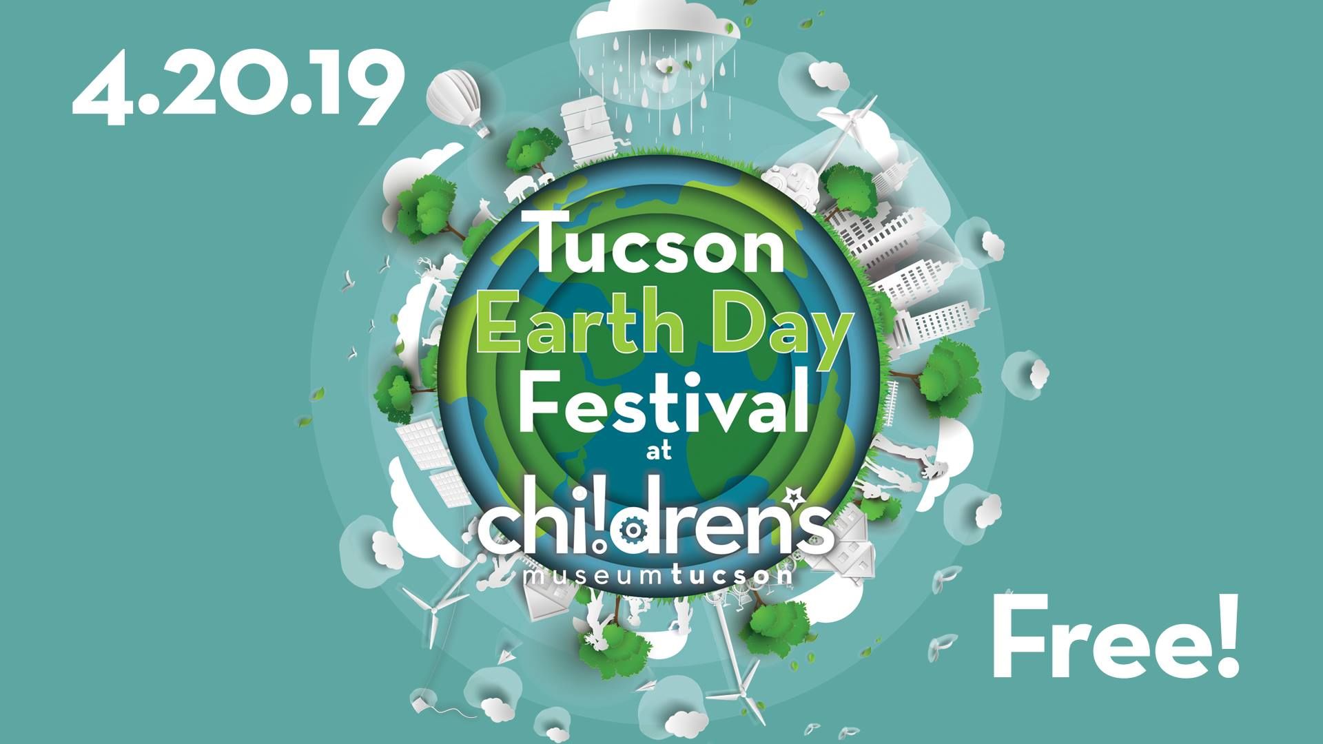 Tucson Children's Museum Earth Day 2019