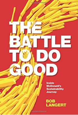 Book cover - The Battle to do Good
