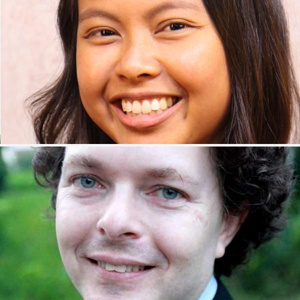 Judith Roman Bucasas and Adam Minter