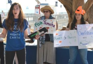 Mighty Earth campaigners