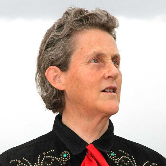 Temple Grandin - photo by Rosalie Winard