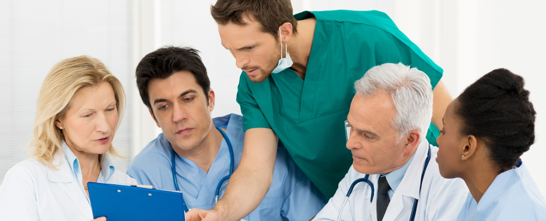 Team Of Experts Doctors collaborating