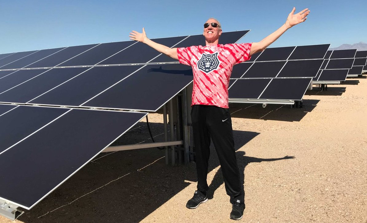 Bill Walton and Tucson Electric Power and University of Arizona Tech Park Solar Zone