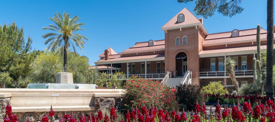 TUCSON, AZ/USA - Old Main on the campus of the University of Arizona.