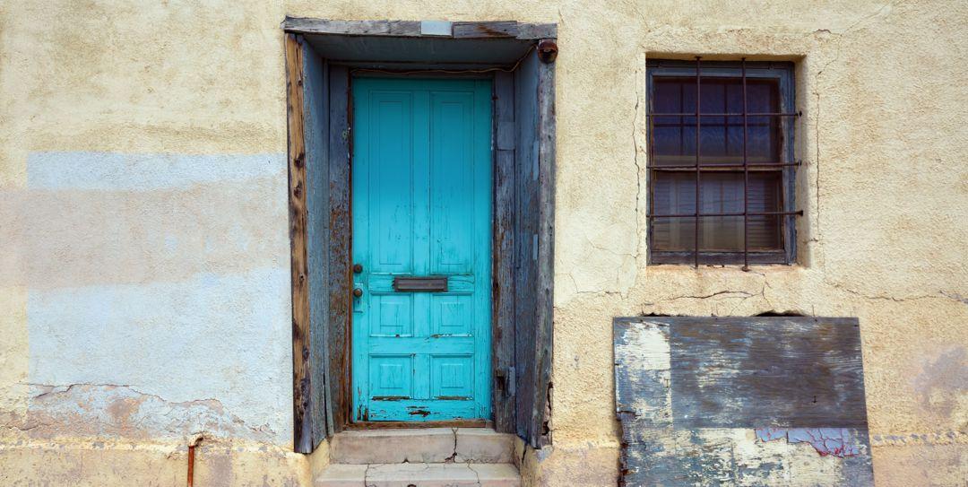 rustic southwest door