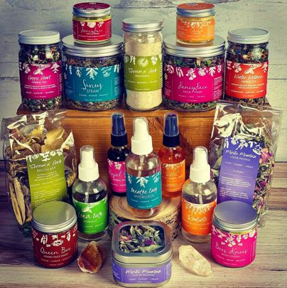 Natural products from Whole Heart Botanicals